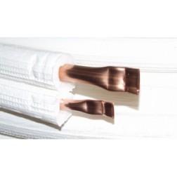 Měděné připojovací potrubí klimatizačních jednotek 3/8 - 1/4 DUO - pro jednotky do místností 84-110